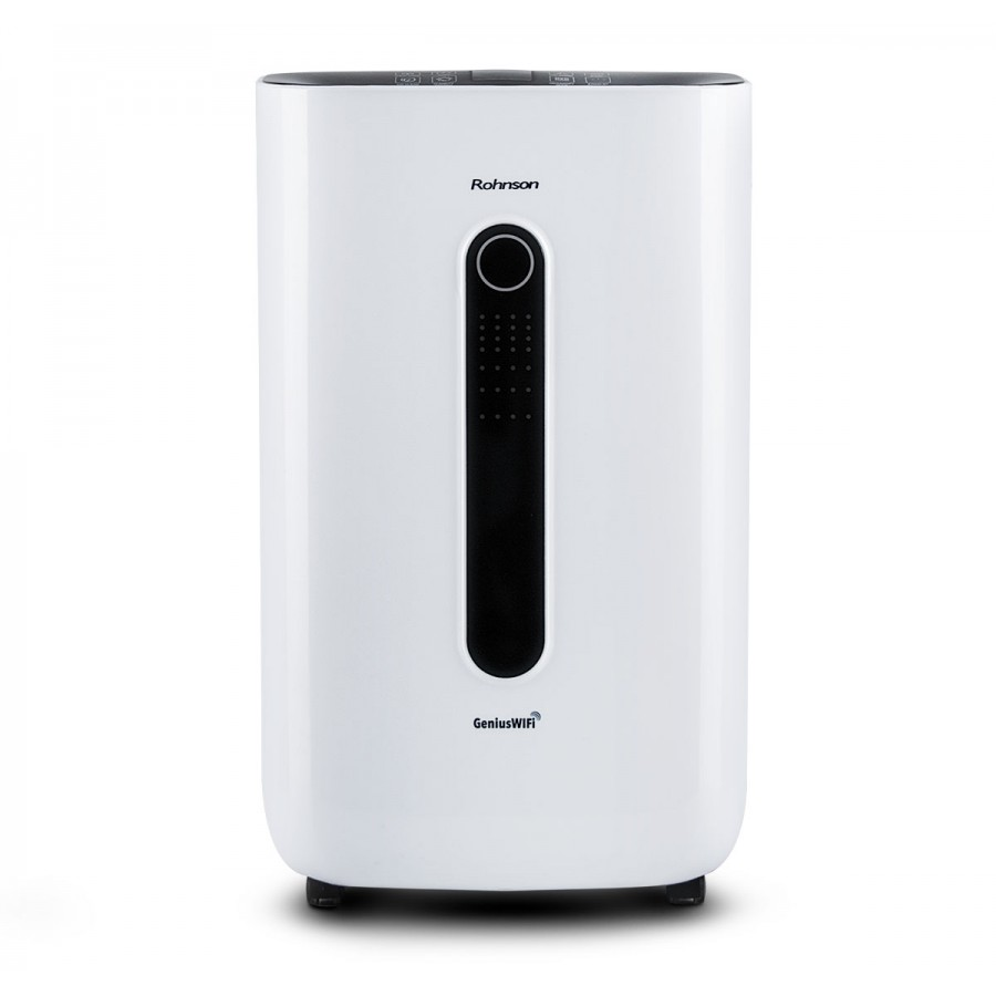 Dezumidificator Wi-Fi, cu functie de purificare a aerului, 320W, 120m², 20L, Rohnson R9820
