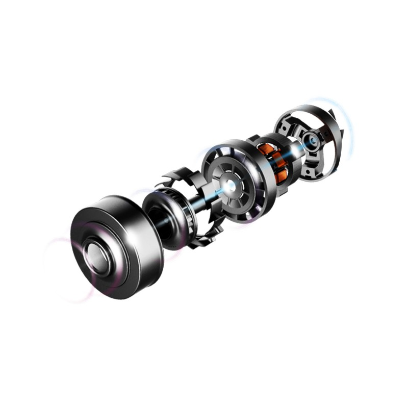 Aspirator vertical Rohnson Mamba Plus M4, 2-in-1, 430 W, 25.2V, 2500mAh, cyclone, 0.5l, 25kPa, autonomie 60 min