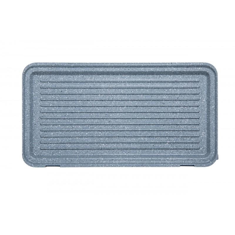 Sandvich maker cu plăci detașabile, mari (28,5 x 15,2 cm), cu finisaj de marmură, 900W, Rohnson R2680