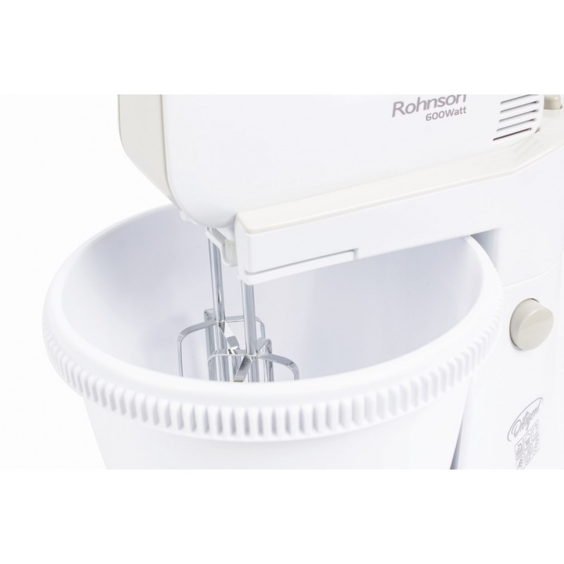 Mixer cu bol rotativ, 3L, 600W, 5+TURBO , Rohnson Diligent R5525