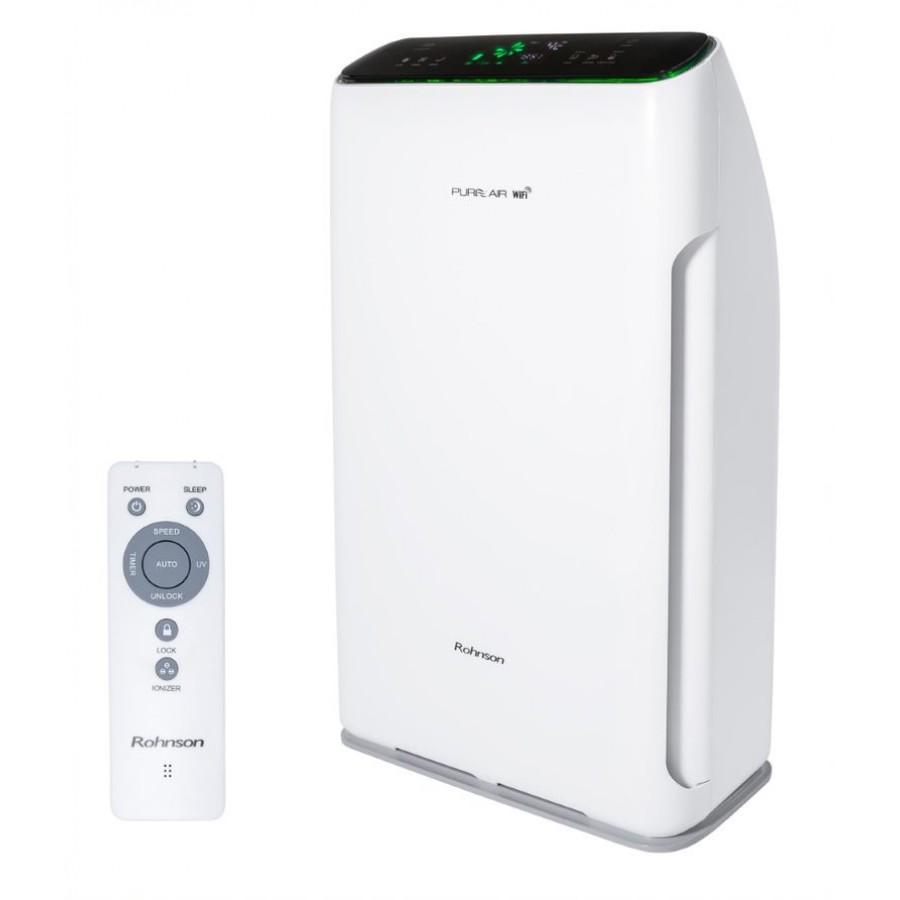 Purificator de aer, Wi-Fi, lampa UV, 20–60 m², 320 m³/h, 80W, Rohnson R9700